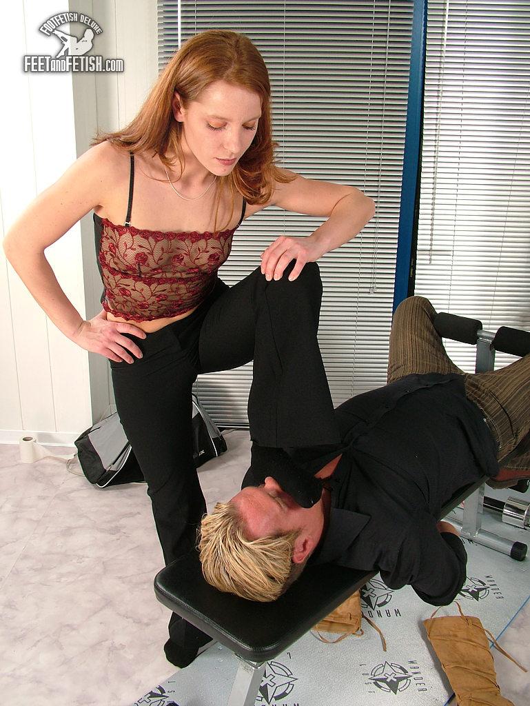 Smell my feet slave